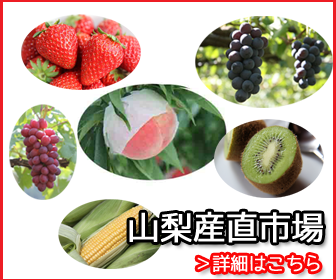 山梨県特産品の桃、巨峰、枯露柿を送料無料でお届けします。