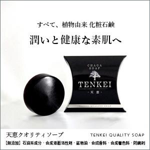 石鹸は古来5000年前からアルカリ性「黒いダイヤモンド」天恵クオリティSOAP