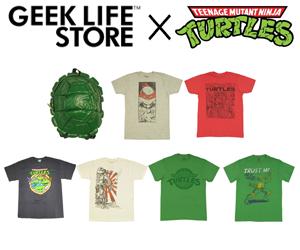 [[ファイル:GEEK LIFE TMNT Ninja Turtles 忍者 タートルズ 300x250.png |thumb |300px |alt=忍者 タートルズ/Ninja Turtles/TMNT|]]