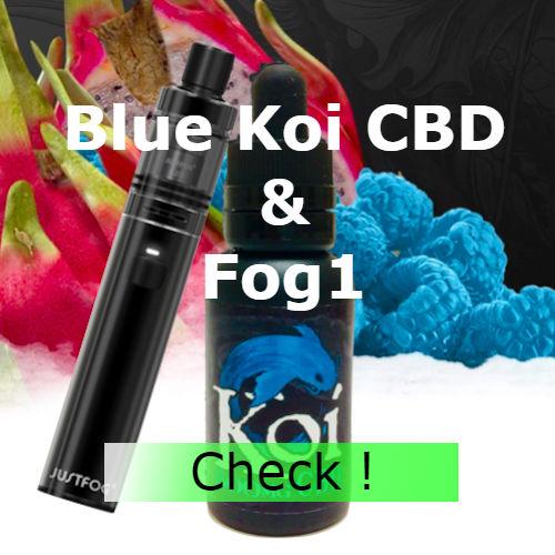 Blue Koi CBD & Fog1
