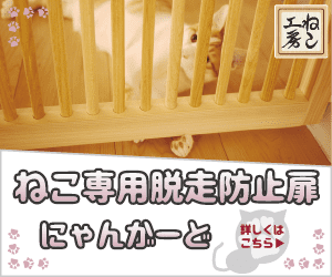 ねこ専用脱走防止扉【にゃんがーど】
